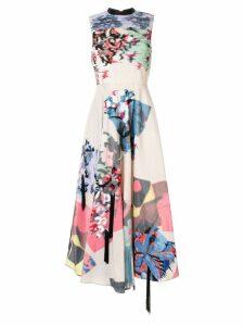 Roksanda floral-print sleeveless midi-dress - Multicolour