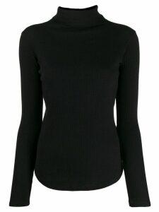 Majestic Filatures roll neck sweatshirt - Black
