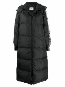 Iceberg oversized padded midi coat - Black