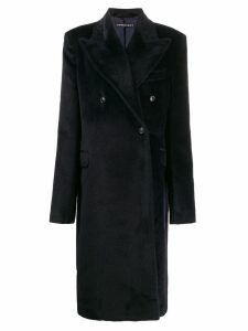 Y/Project oversized-lapel coat - Blue