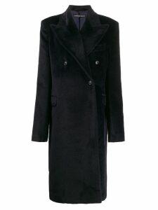 Y/Project oversized-lapel coat - Blue
