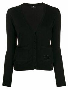 Elisabetta Franchi V-neck knitted cardigan - Black