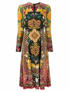 Etro paisley midi dress - Black