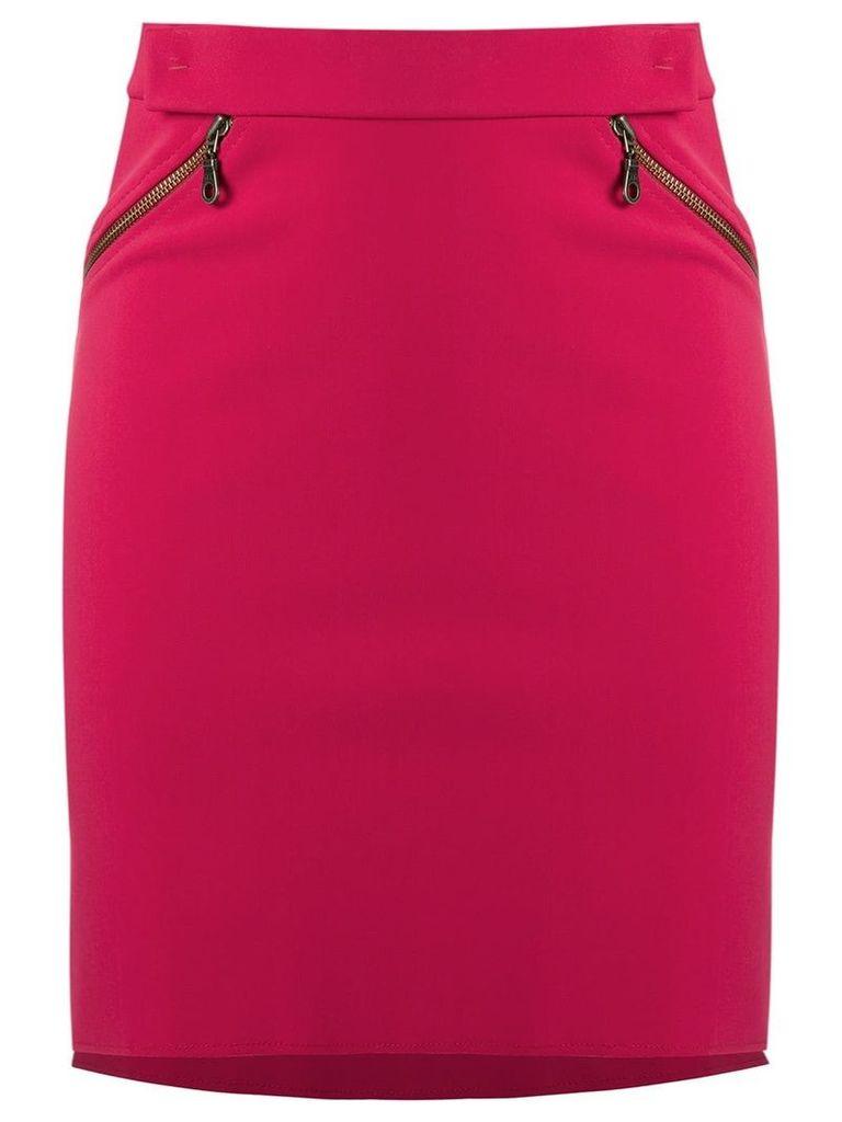 Gloria Coelho high-waisted skirt - Pink