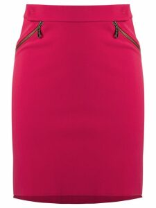 Gloria Coelho high-waisted skirt - Pink