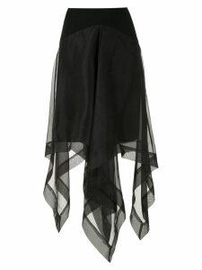 Uma Raquel Davidowicz Mentor silk skirt - Black
