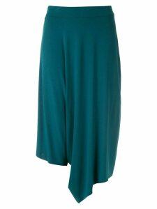 Uma Raquel Davidowicz Adele asymmetric skirt culottes - Blue