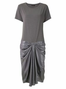 Uma Raquel Davidowicz Rose ruched midi dress - Grey