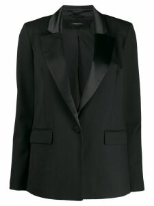 Patrizia Pepe single-breasted blazer - Black