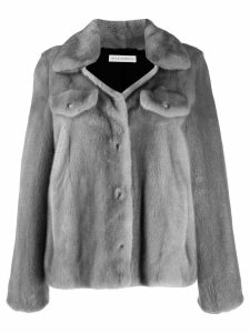 Inès & Maréchal single-breasted fitted jacket - Grey