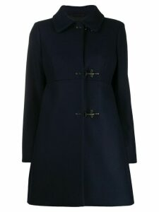 Fay hook detail coat - Blue