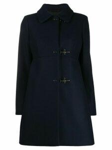Fay hook detail coat - Blue