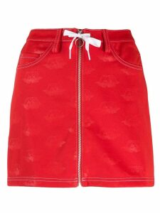 Adidas A-line skirt - Red