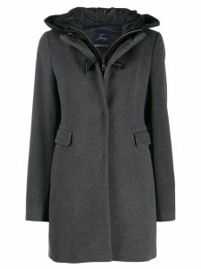 Fay hooded duffle coat - Grey