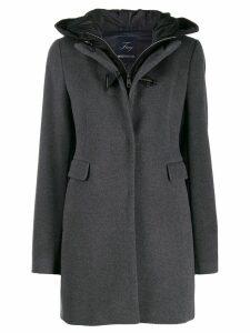Fay hooded duffle coat - Grey