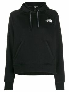 The North Face contrast logo hoodie - Black
