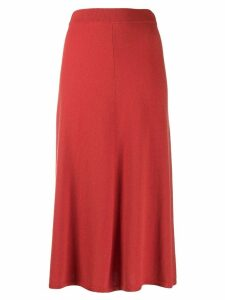Joseph fine knit midi skirt - Orange