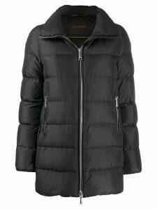 Moorer zipped-up padded jacket - Black