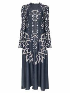 GmbH printed maxi dress - Blue