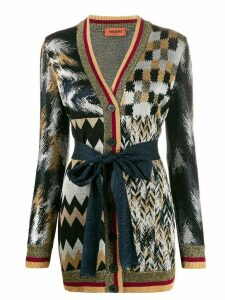 Missoni patterned V-neck cardigan - Grey