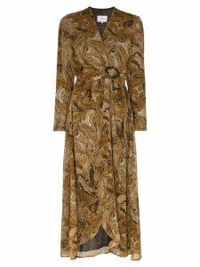 Nanushka Kemper twist front dress - Brown