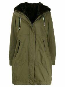 Alessandra Chamonix faux fur trim hooded parka - Green