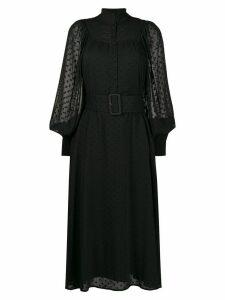 Rotate belted shirt dress - Black