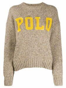 Polo Ralph Lauren Donegal jumper - Brown