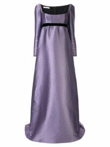 Philosophy Di Lorenzo Serafini empire line evening dress - Purple