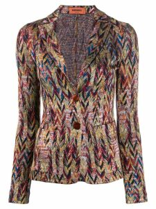 Missoni fitted blazer - Neutrals