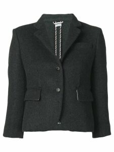 Thom Browne Military-Weight Cashmere Sport Coat - Grey