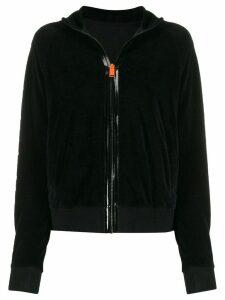 Heron Preston zip front sweatshirt - Black