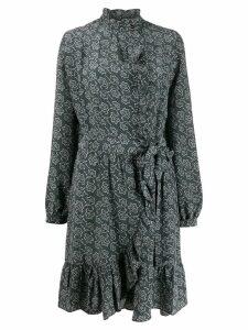 Vanessa Bruno floral shift dress - Blue