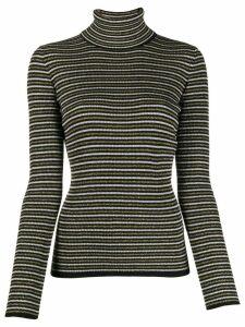 Tommy Hilfiger Tommy x Zendaya striped jumper - Black