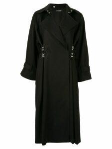 Boyarovskaya clasp-embellished coat - Black