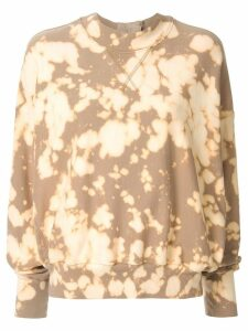 Bassike mottled sweatshirt - Brown
