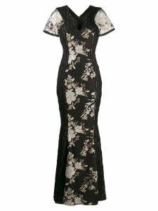Talbot Runhof sequin long dress - Black