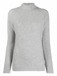 Fabiana Filippi turtle-neck fitted sweater - Grey