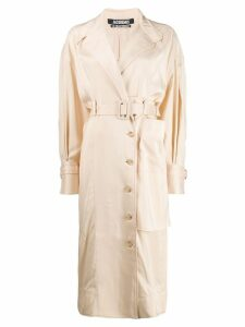 Jacquemus belted trench coat - Neutrals