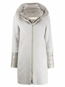 Herno double layer coat - Grey