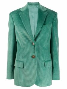 Acne Studios corded blazer - Green
