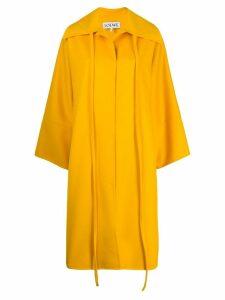 Loewe oversized ribbon coat - Yellow