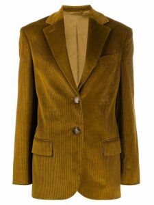Acne Studios corded blazer - Yellow