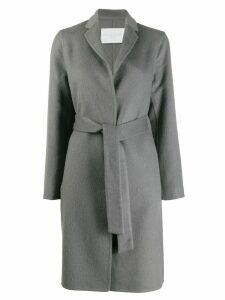 Fabiana Filippi belted single-breasted coat - Grey