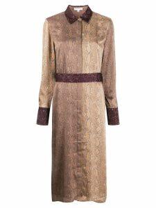 Equipment christabella dress - Brown