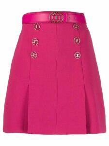 Elisabetta Franchi A-line mini skirt - Pink