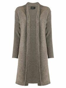 Andrea Ya'aqov mid-length cardi-coat - NEUTRALS