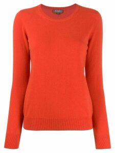 N.Peal round neck sweater - Orange