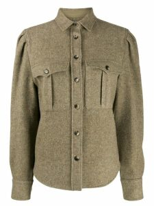 Isabel Marant utility shirt - Green