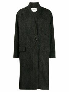 Isabel Marant Étoile oversized single-breasted coat - Black